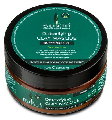 Sukín Detoxifying Clay Masque