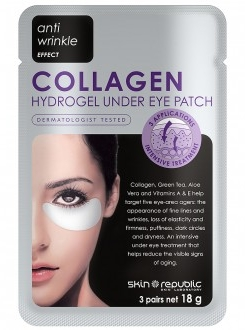 Skin Republic Collagen Eye Patches 3-pack RRP$9.99 - I thoroughly enjoyed using these patches, they made my under eye area look awake, refreshed and hydrated. For that price you cant go wrong!I can't wait to try more expensive versions available to see how they compare.