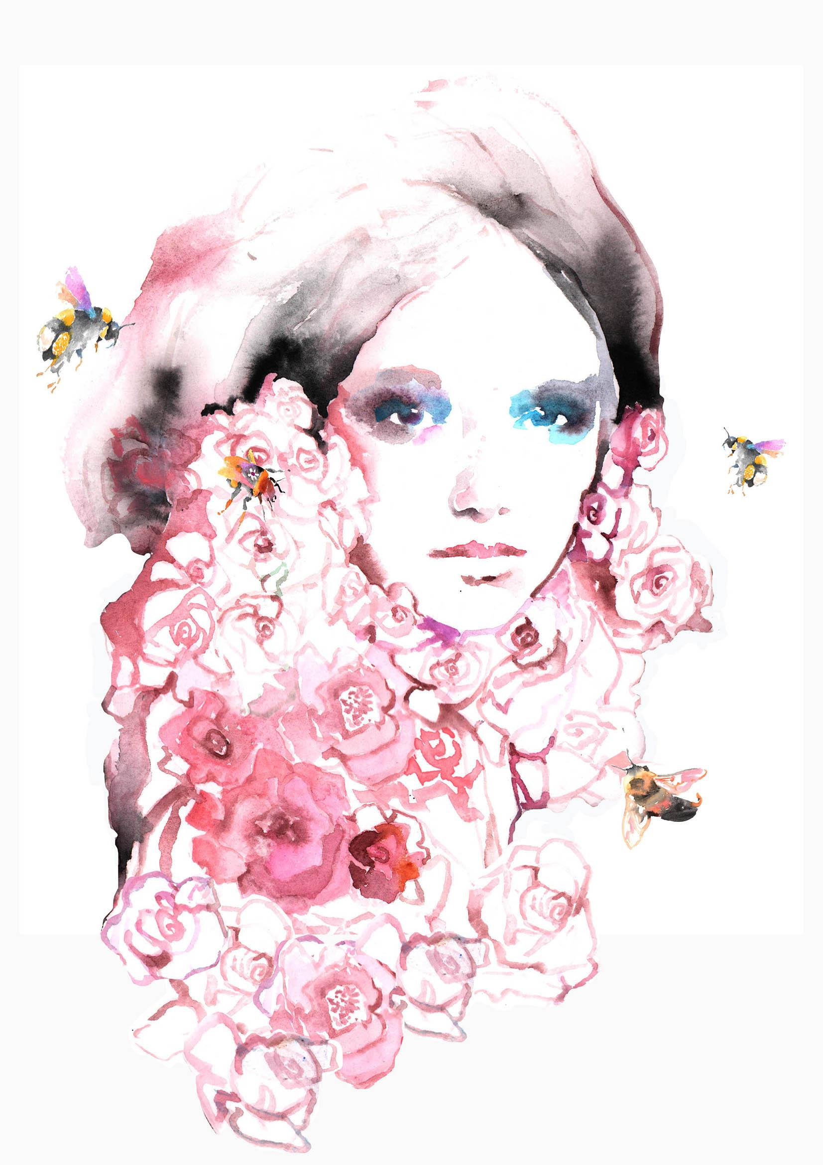 Briar Rose 'Save the Bees'