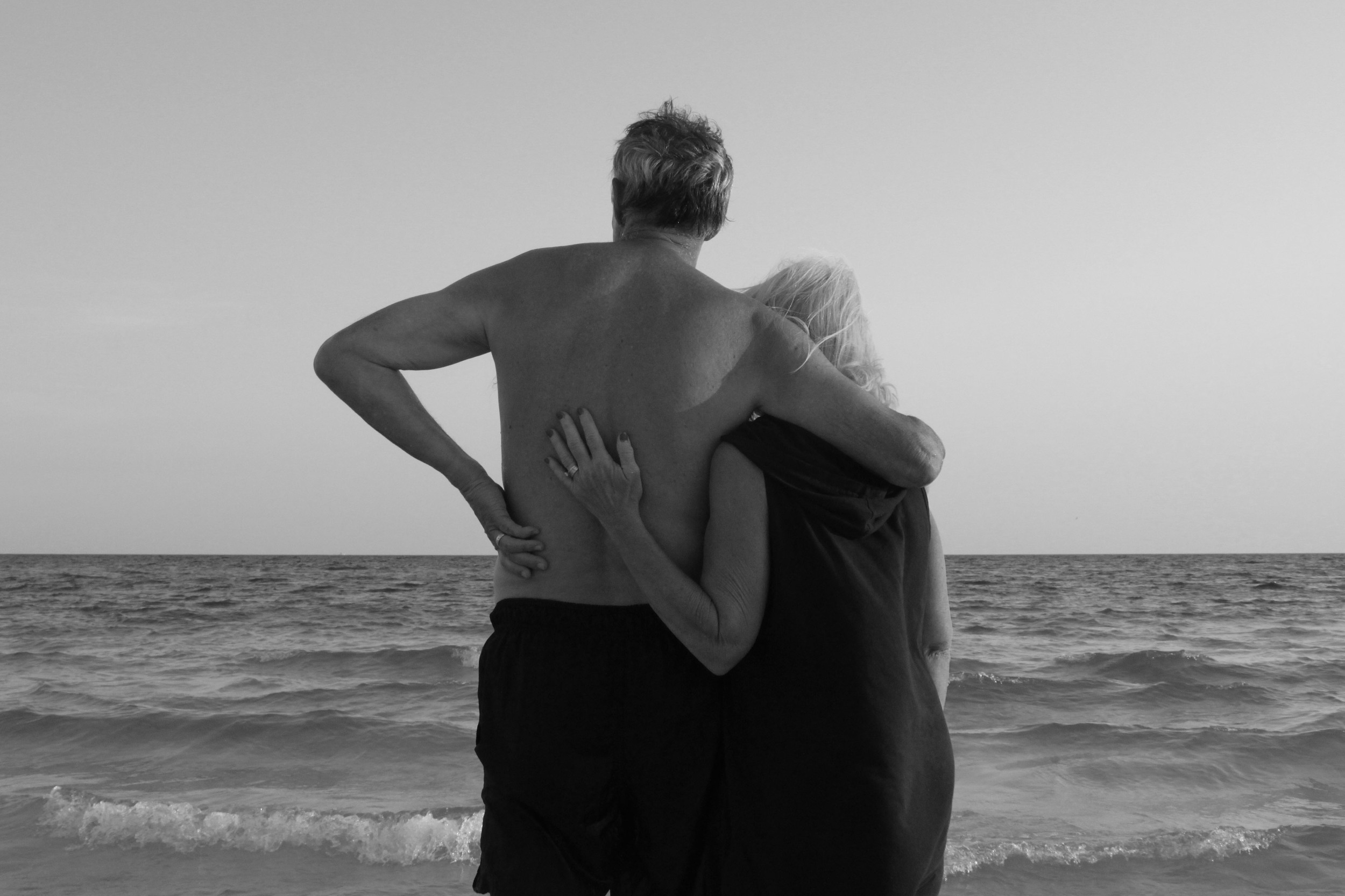 my mother and my father // destin, fl // 2014