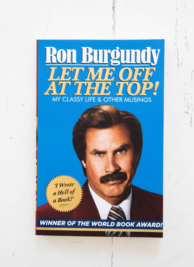 In his very own words, Burgundy reveals his most private thoughts, his triumphs - and his disappointments.