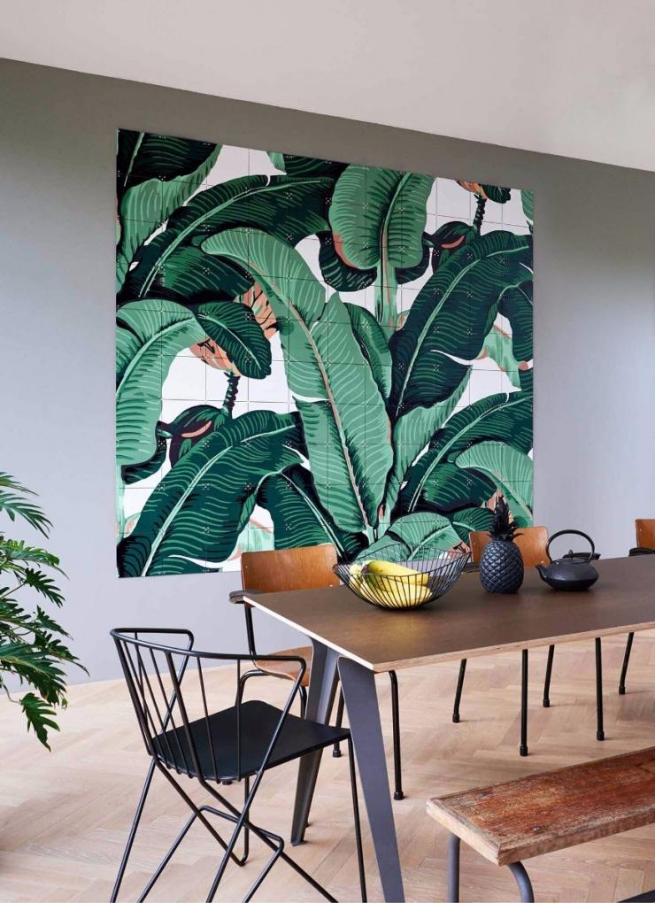 Banana Leaf Wall Art