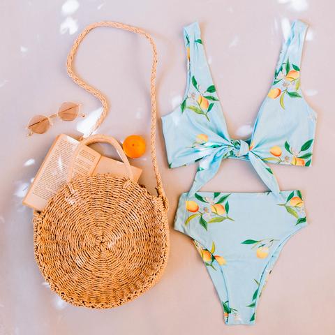 lemon drop bikini set - shop now