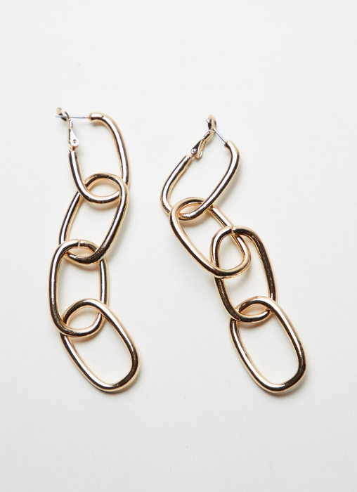 4 Link Chain Earrings