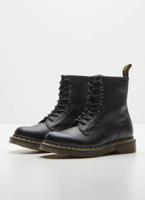 Dr Martens - 1460 8 Eye Boots, Black Nappa