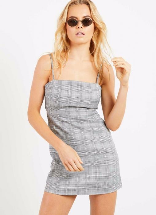 Clueless Dress - Check Print