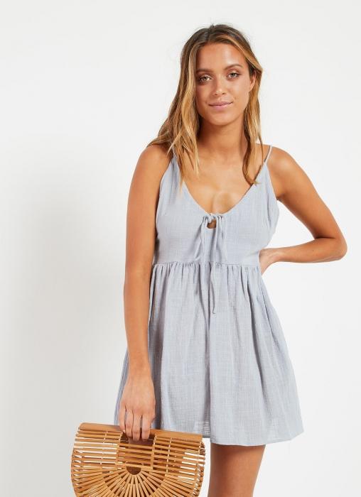 Sahara Mini Dress - Blue