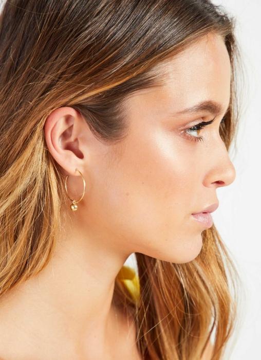 Peppermayo Jewellery - Lena Earrings, Gold
