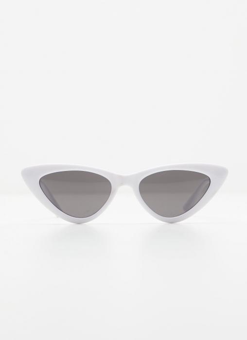Angel Whispers - Kitten Sunglasses, White