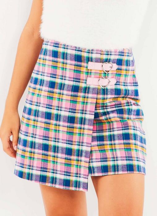 Lazy Oaf - Check Kilty Skirt
