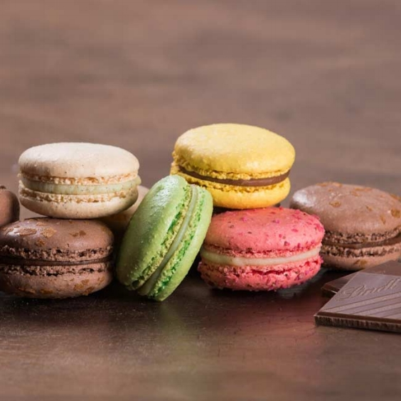 Macaroons, Lindt Chocolate have various flavours!