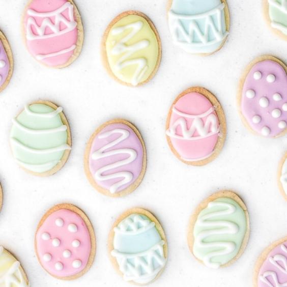 Sugar Cookies, Ahead of Thyme,https://www.aheadofthyme.com/2017/03/easter-egg-sugar-cookies/