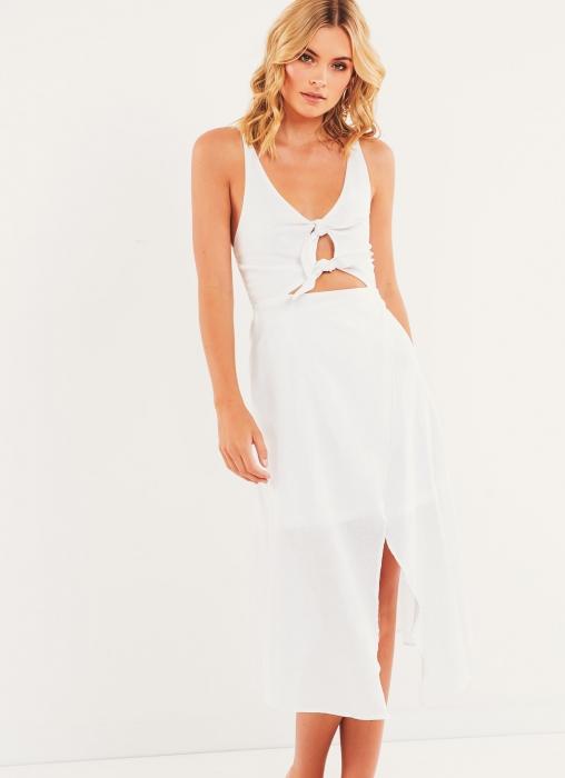Edderton Dress - White