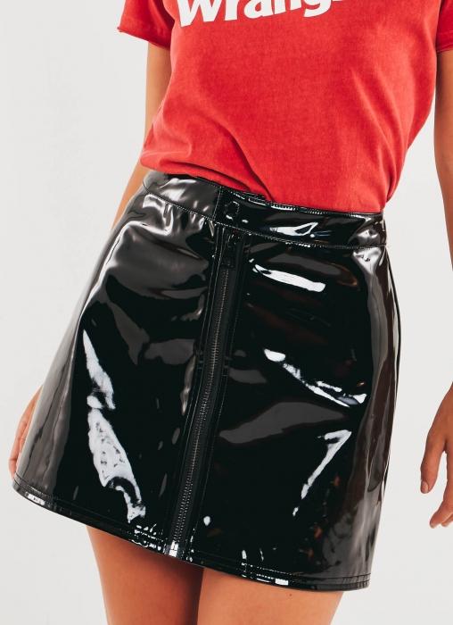 Similar Zip Skirt - Black