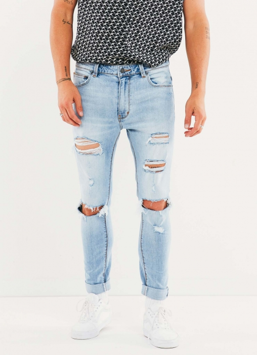 Abrand - A Dropped Skinny Turn Up Jean
