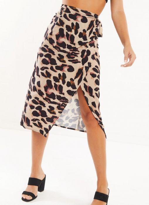 Ghelaina Skirt - Leopard Print