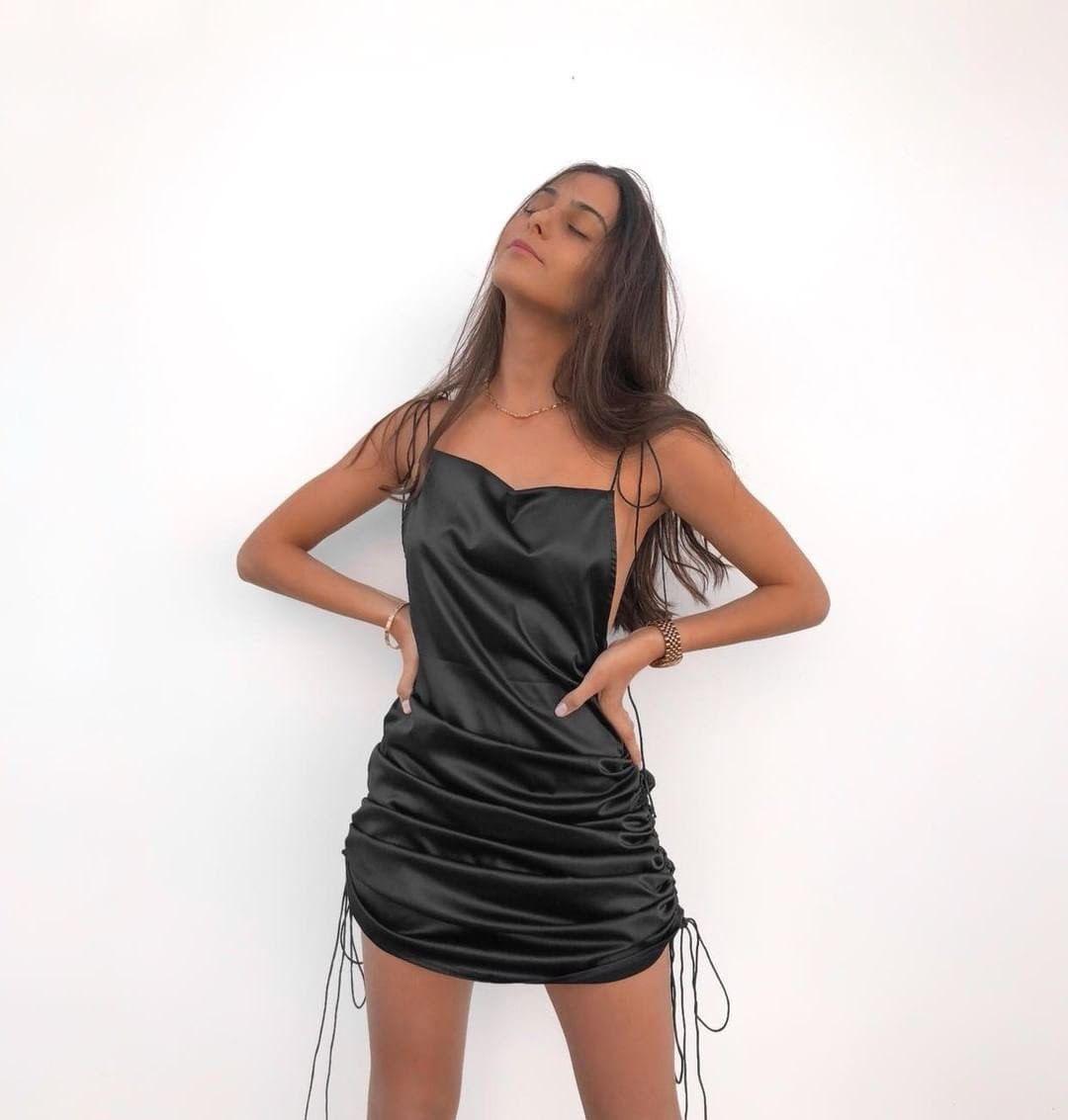 @gal__hadad - String Along Mini Dress
