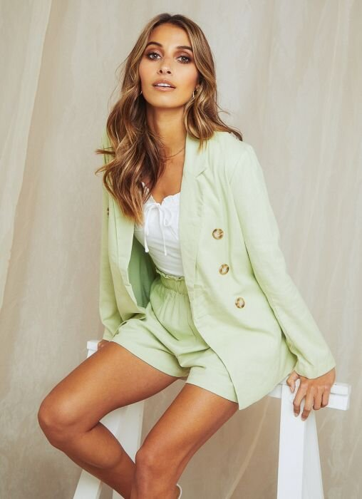 Palm Springs Blazer ,  Summer Memories Top , and  On Vacation Shorts