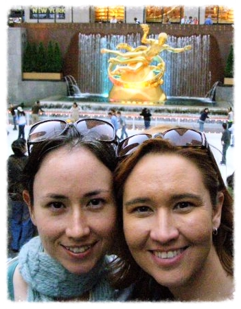 With my sister, Ana, in NYC (2007).