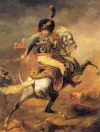 Théodore Géricault , Le Chasseur de la Garde , 1812