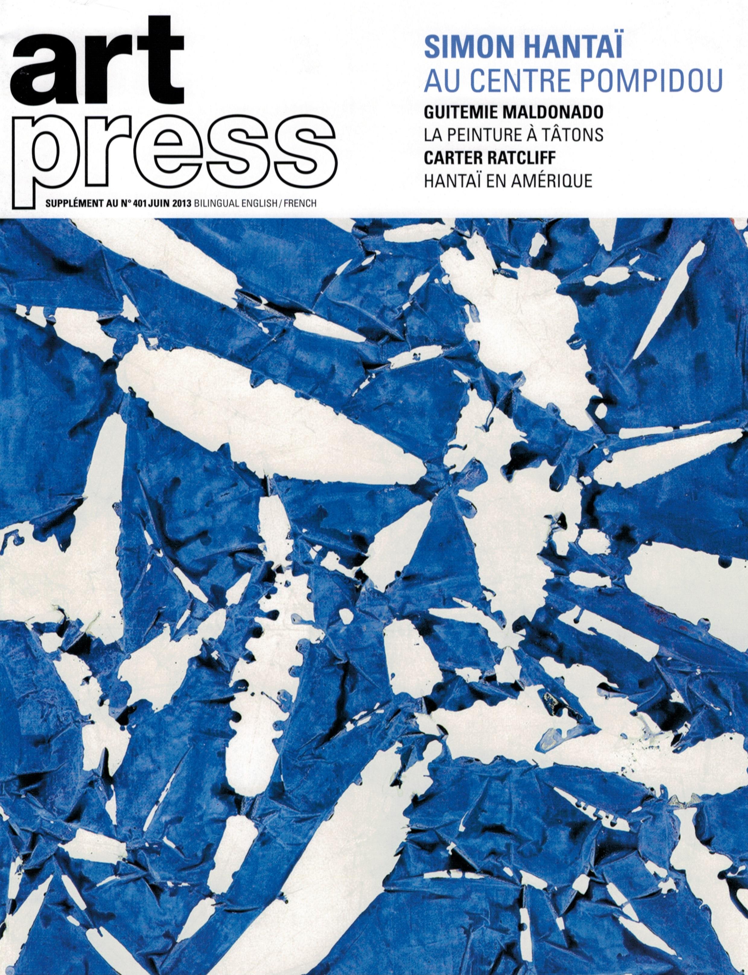 Art Press Simon Hantai