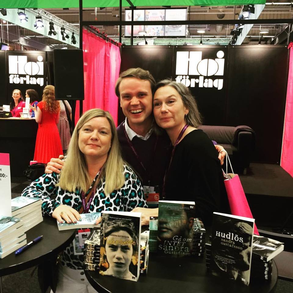 Med Sandra Gustafsson och Karl Almén Burman