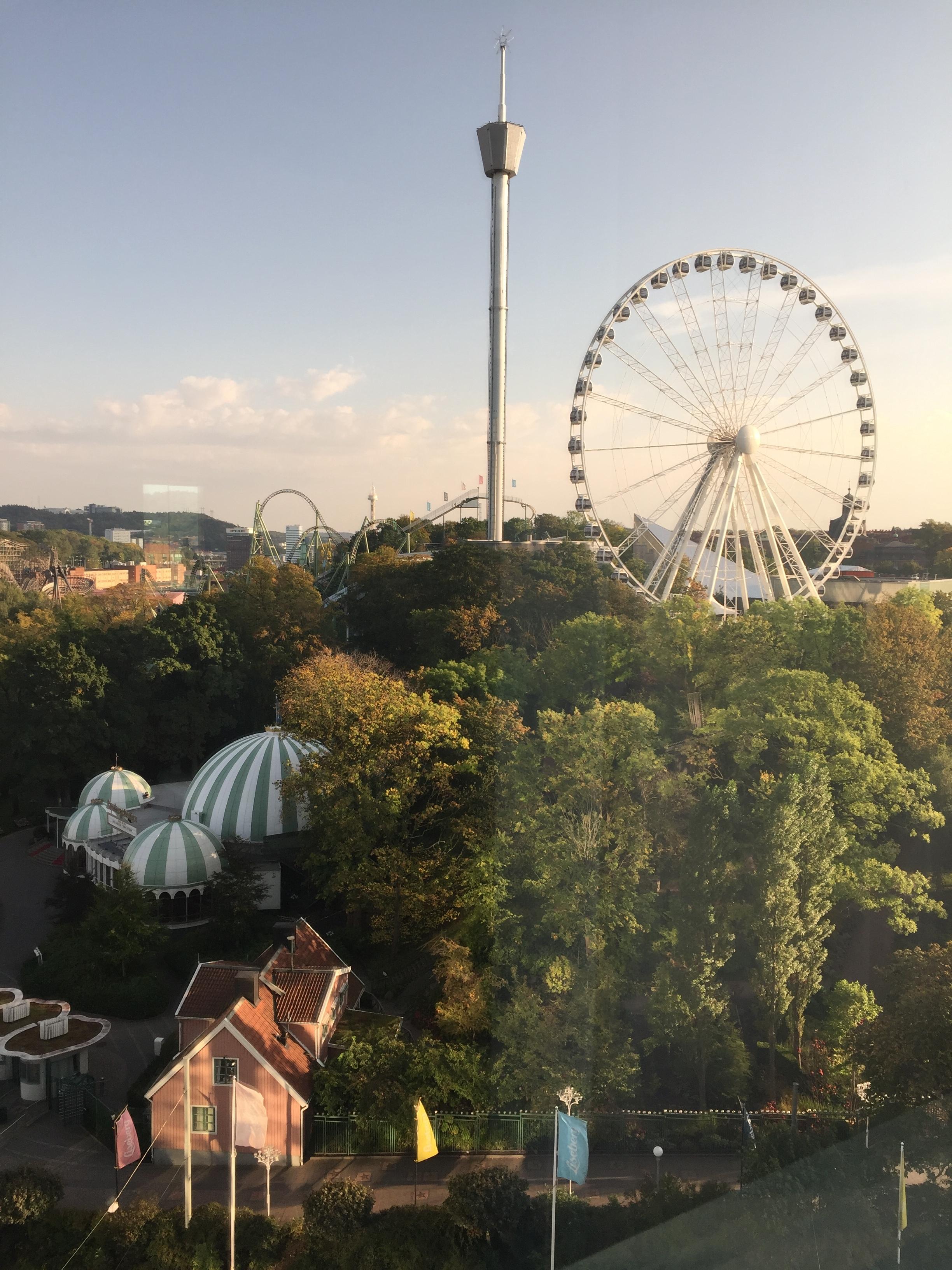 Utsikten från mitt hotellrum