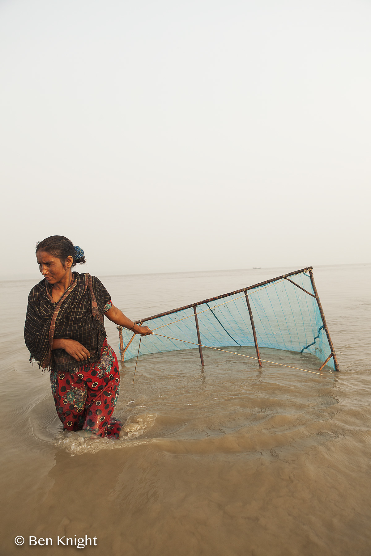 Joymoni, Bangladesh. Fairtrade in the shrimp industry.