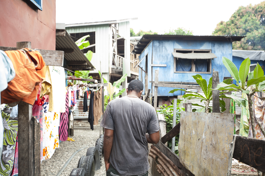 The Ontong Java settlement in Honiara