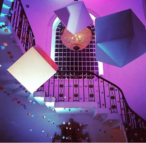 PaperShake instillation on #FutureShapers Instagram