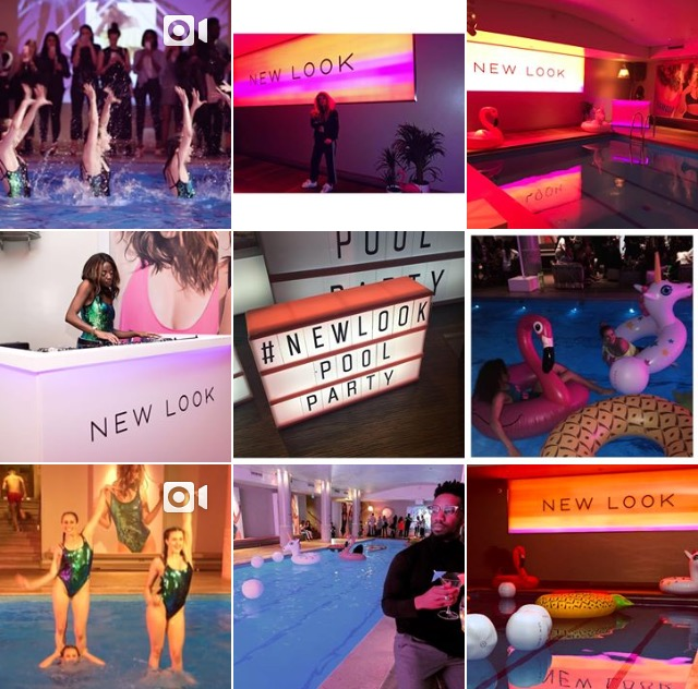 #NewLookPoolParty on Instagram