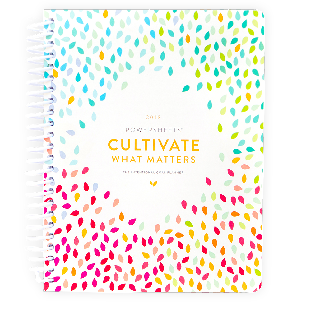 Cultivate What Matters Intentional Planner