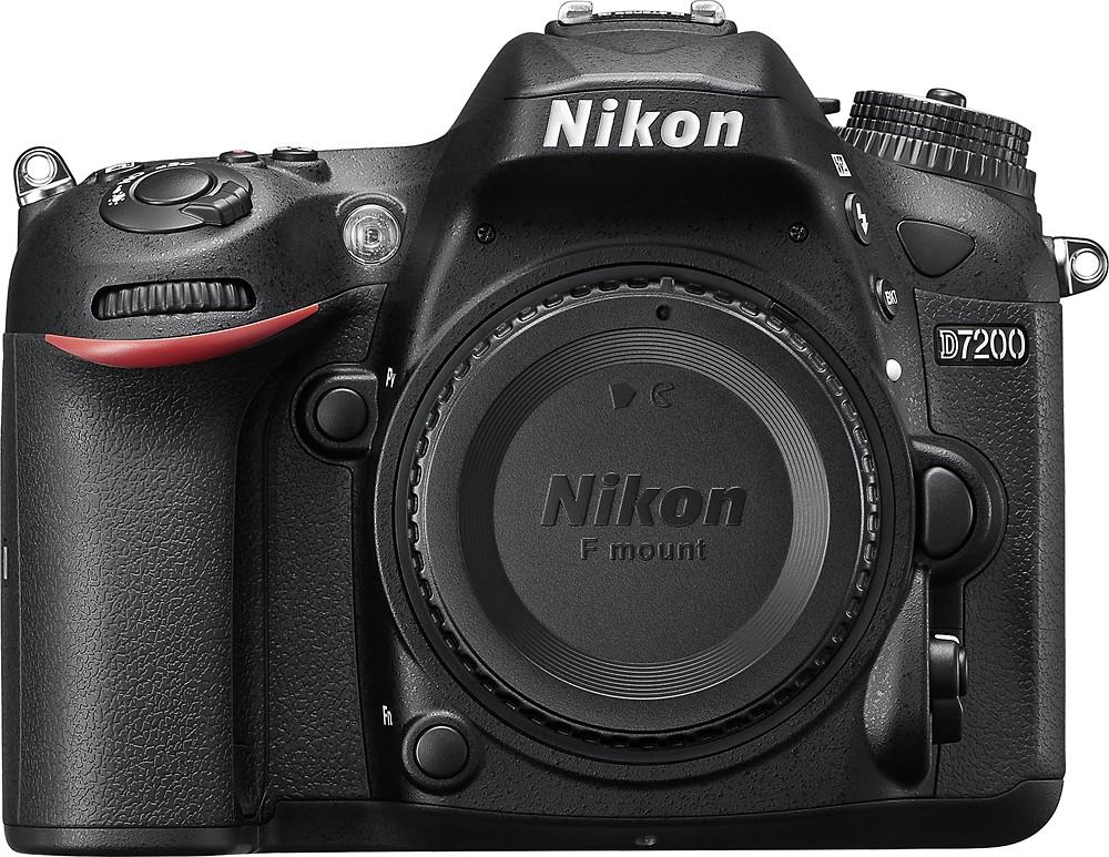 Nikon D7000 16.2 Megapixel Digital SLR Camera with 18-55mm Lens (Black) - $849.95