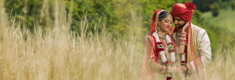 1.1.2. Gujerati Hindu Wedding Day Shoot Couple - Surrey Golf Club