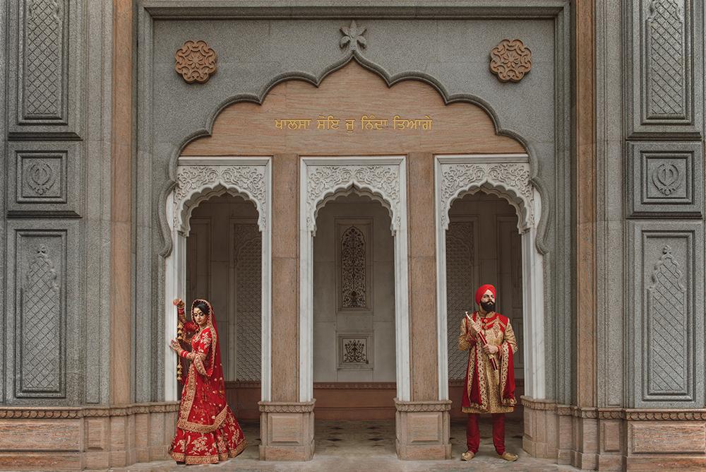 0.3.2 Sikh Wedding Bride Groom Asian Indian Bride Punjabi Gravesend Gurdwara.jpg