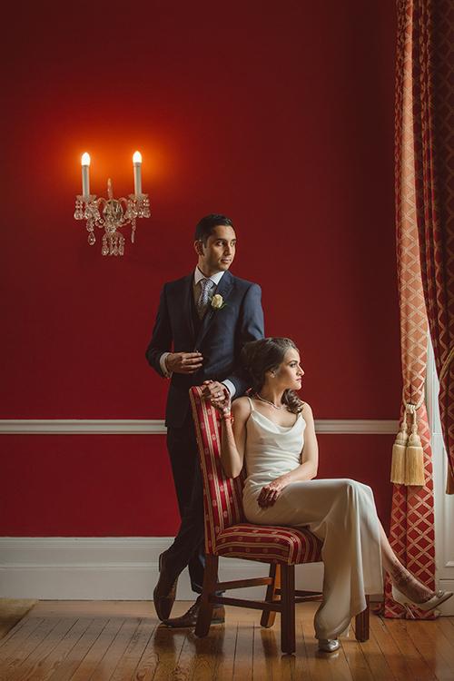 0.3.3.1 Sikh Hindu Wedding Day Shoot Portrait Couple - Addington Palace.jpg