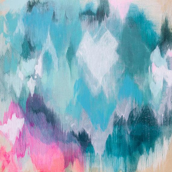 Abstract Fine Art by Belinda Marshall Art