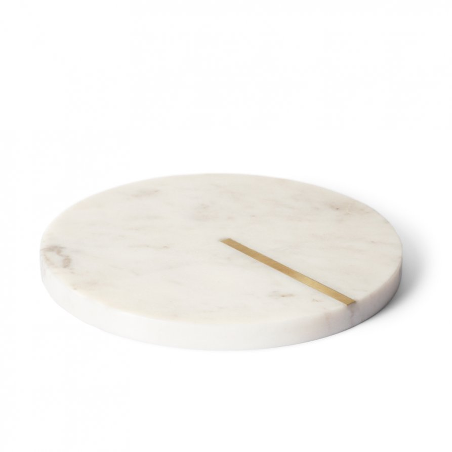 Marble Inlay Trivet by Lightly