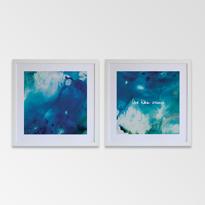 Love Like Oceans Artwork, Rachel Kennedy