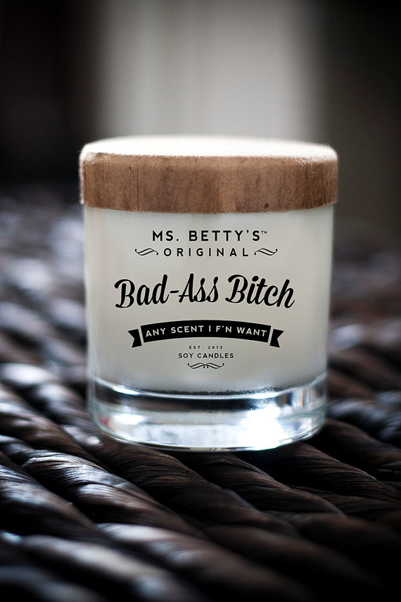 Bad-Ass Candle