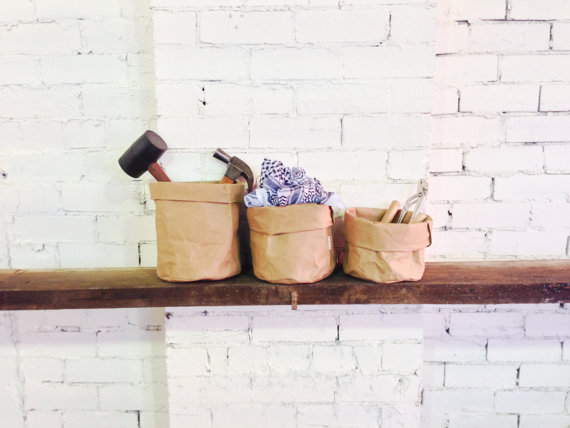 Washable Paper Bags from Sunday Home
