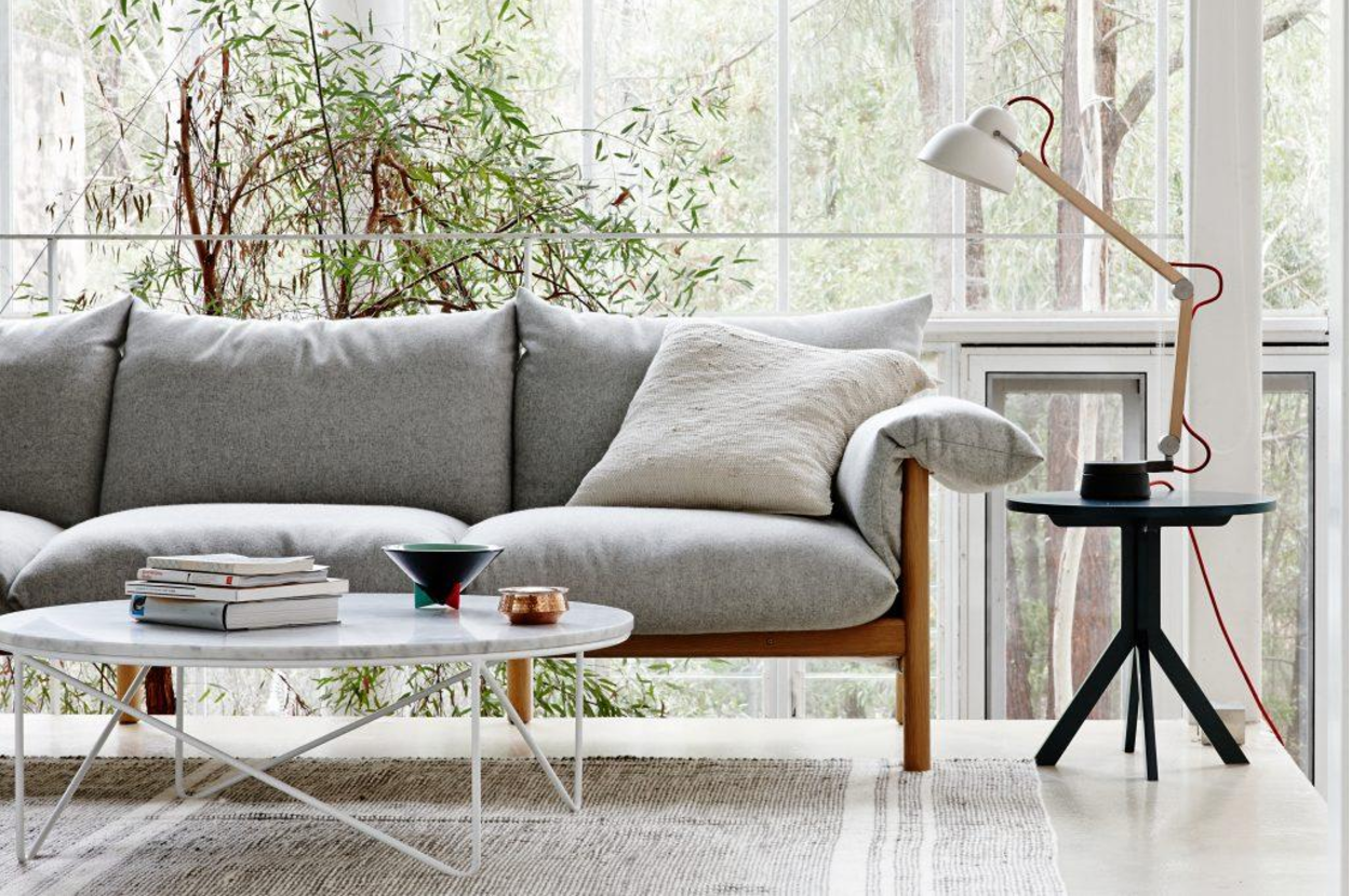 Image by:  Jardan  of grey used couch