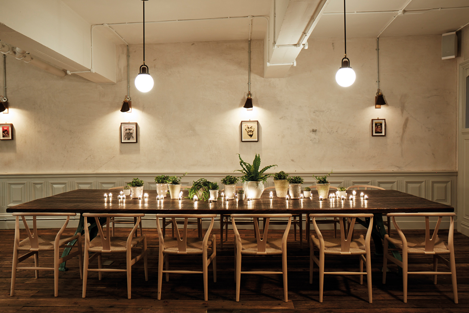 private dining room - Private dining and meetings for up to 30 guests