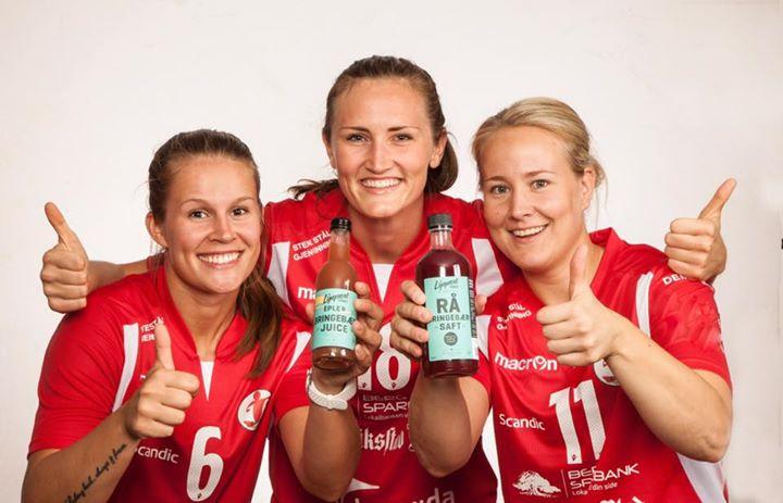 Sunn idrett og sunne verdier for Lippert drikke fra Råde og Fredrikstad Ballklubb. (Foto: Arne Glomdal)