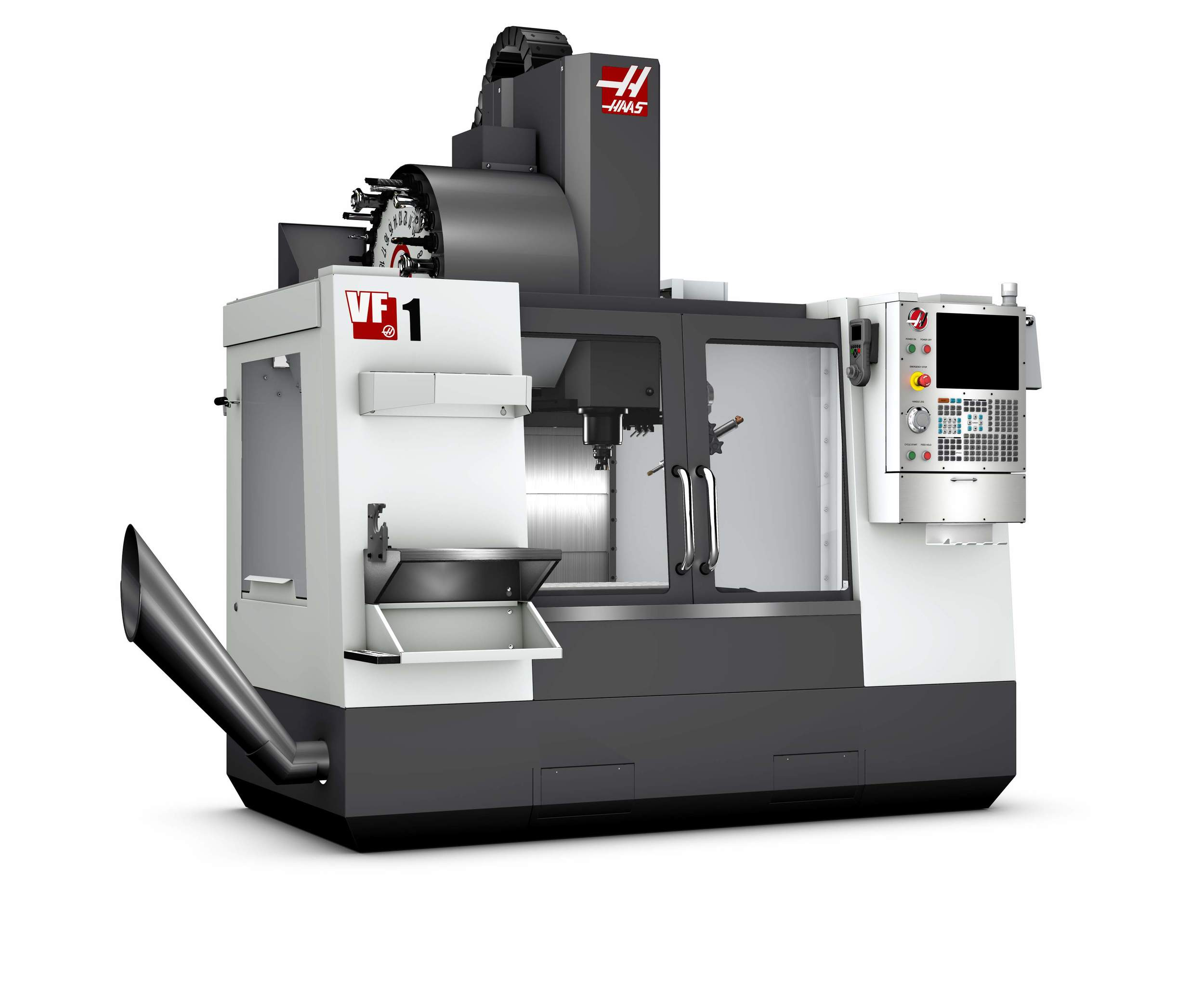 HAAS VF 1 Machining Center - 20 HP Motor, High speed Axis Drives, Rigid Tapping and 20-Station Tool Changer