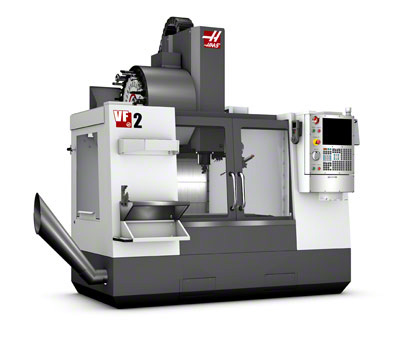 HAAS VF2 Machining Center - 20 HP Motor, High speed Axis Drives, Rigid Tapping and 20-Station Tool Changer. Haas dual 5c indexer available for use