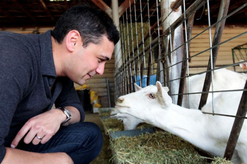 Adam Rutherford and goat.jpg
