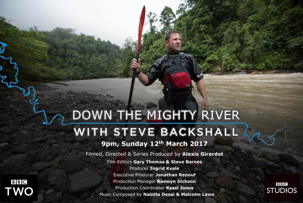 This Sunday at 9pm on BBC Two - Steve Backshall presents Down The Mighty River