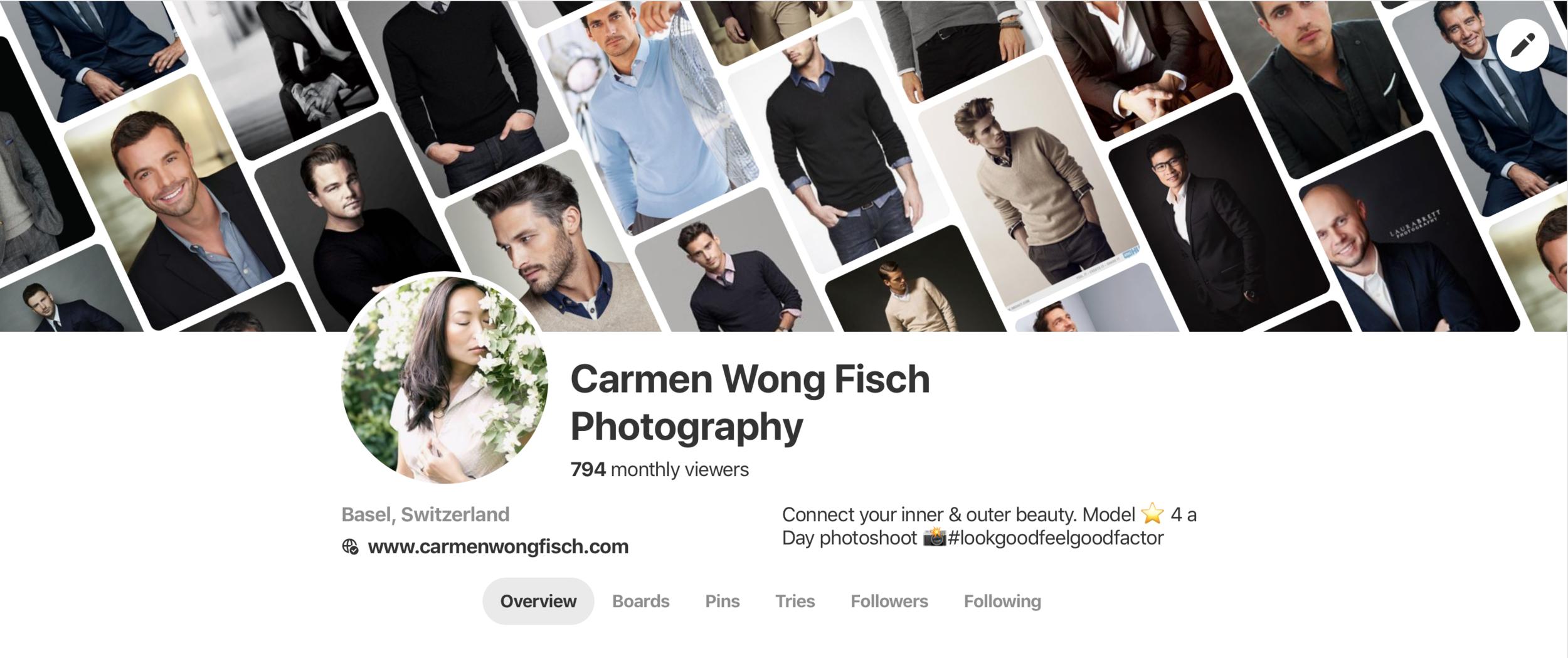 Carmen Wong Fisch Pinterest