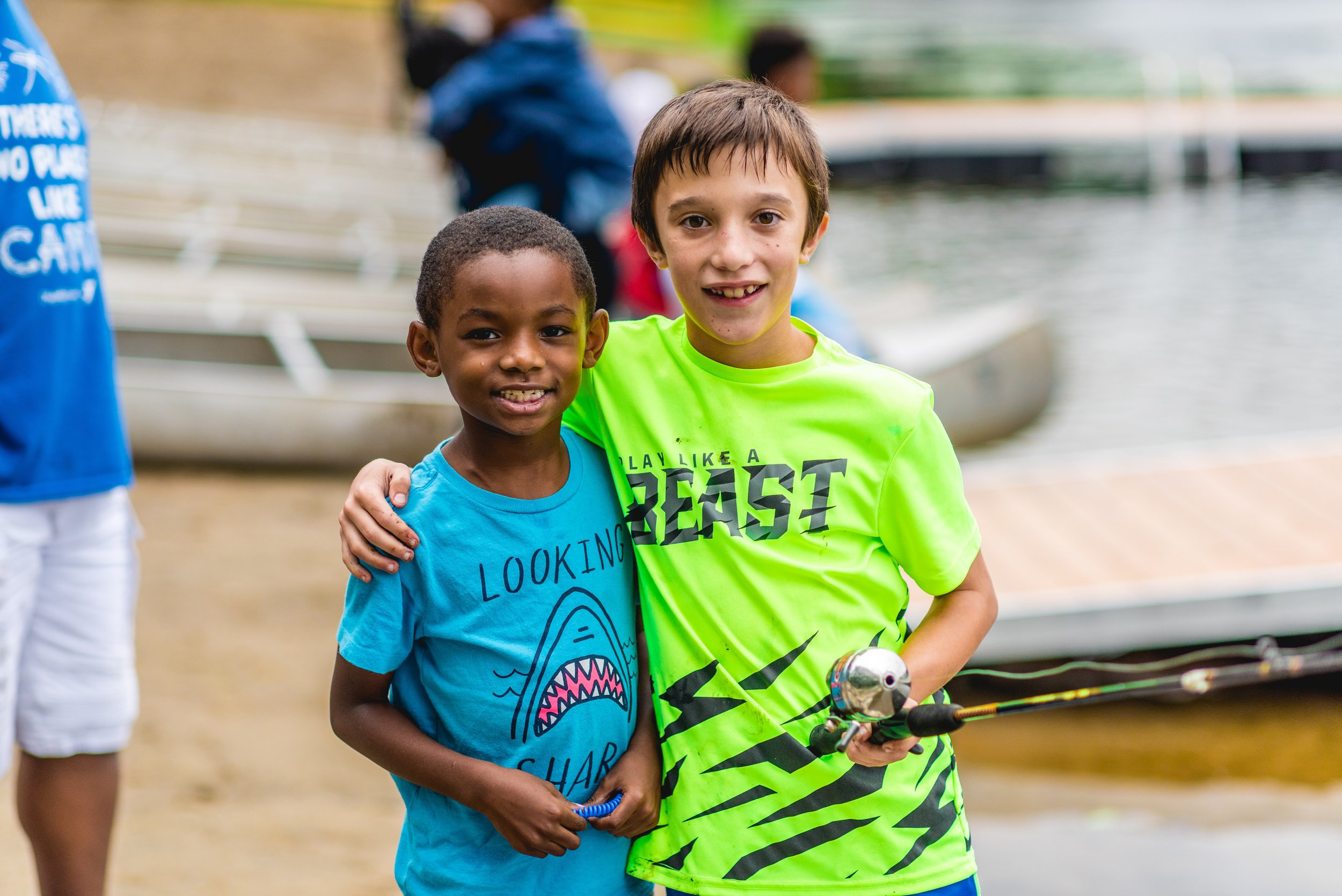 Campers with Sickle Cell and Hemophilia -